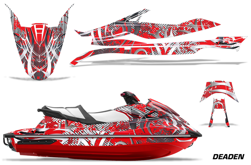 Yamaha Wave Runner GP 1800 Graphic kit for 2017 models  Over 40