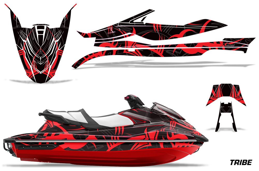 Yamaha wave runner gp 1800 graphic kit for 2017 models for Yamaha jet skis