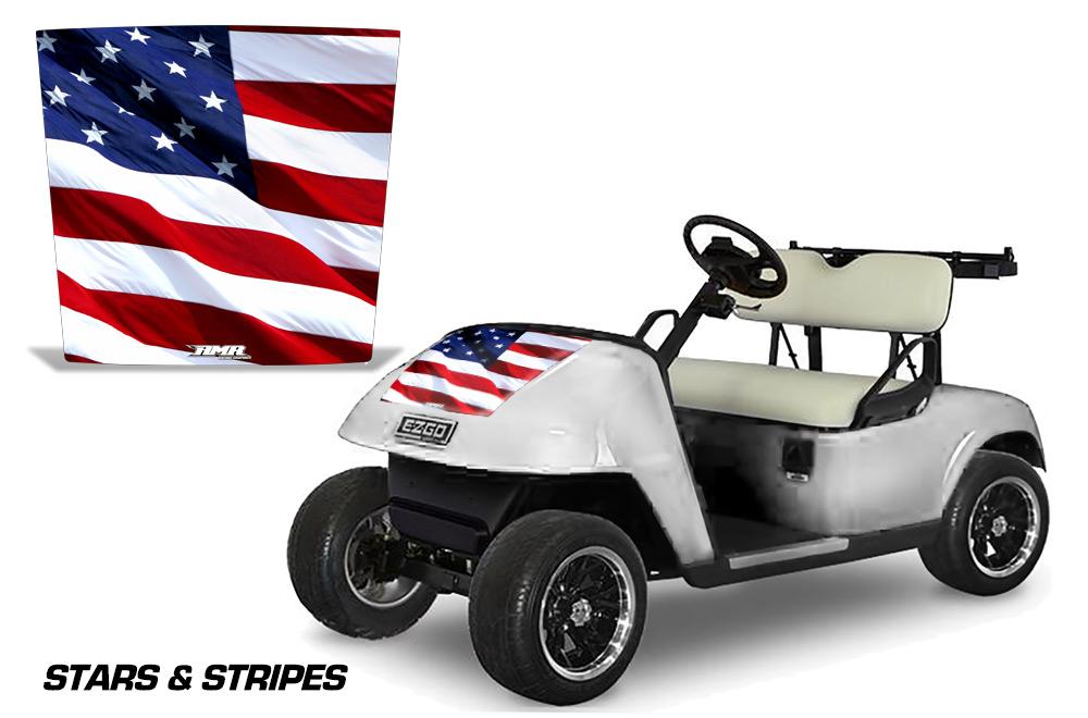 Golf Cart Hood Decals  Vip  Golf Cart Customs