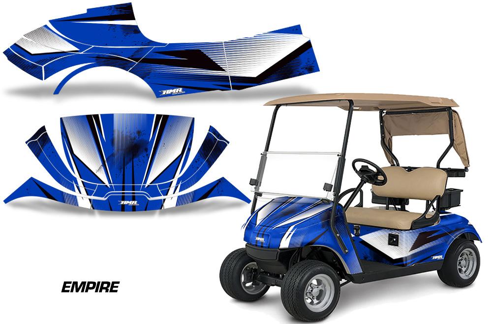 Yamaha Golf Cart Camo Wrap