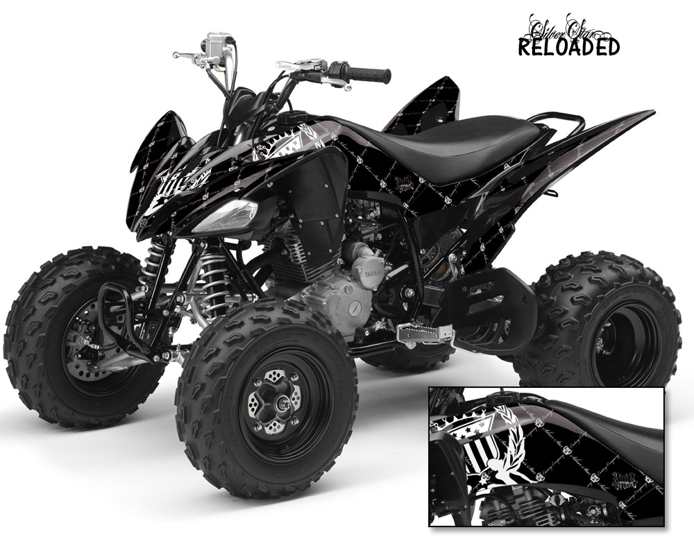 Silver Star Yamaha Raptor 700 660 350 250 Quad Graphic Kit