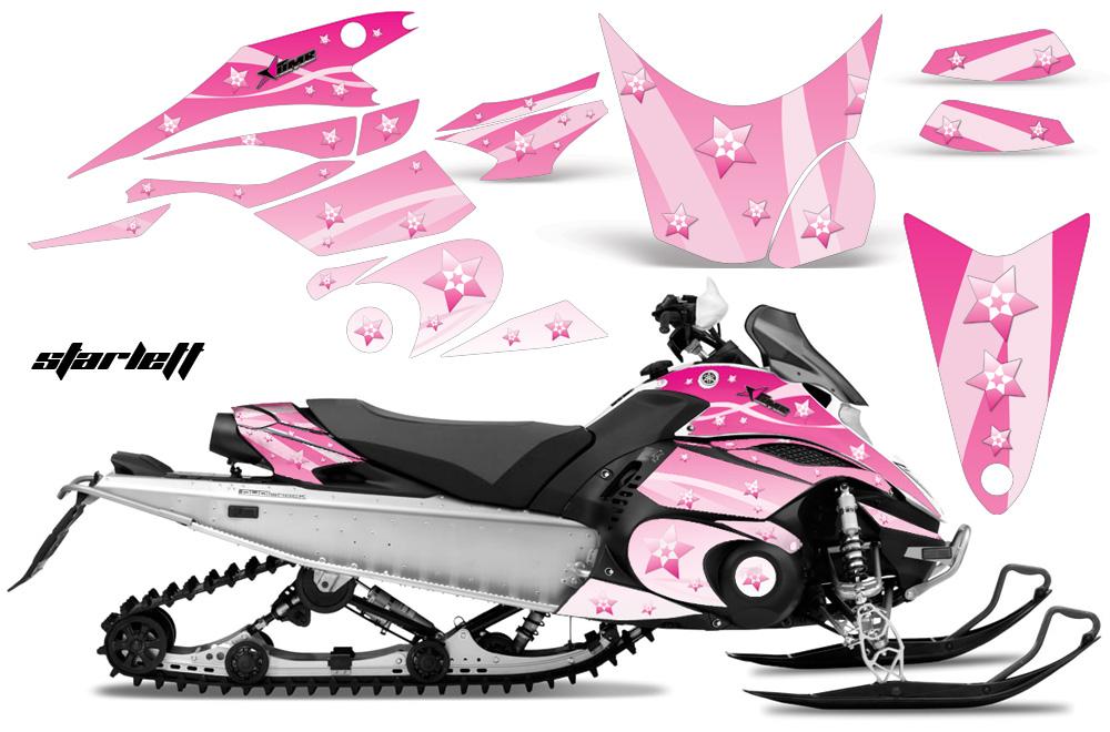 Yamaha FX Nytro Sled Snowmobile Graphics Decal Kit 2008 2014