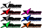 AMR Signature Star Decal (Select Color & Size)
