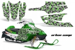 Arctic Cat Firecat Sled Snowmobile Wrap Graphic Kit