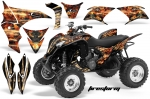 Honda TRX 700XX ATV Quad Graphic Kit 2009-2015