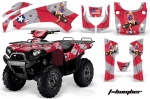 Kawasaki Brute Force 750i Quad Graphic Kit 2005-2011