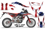 Aprilia SXV 450 5.5 Graphics Kit (select from over 30 designs)