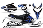 Yamaha Phazer RTX,GT Sled Snowmobile Graphics Decal Kit 2007-2016