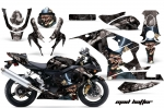 Suzuki GSXR 600/750 Sport Bike Graphic Kit (2004-2005)