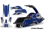Yamaha Superjet Jet Ski Graphic Wrap Kit (Round Nose)