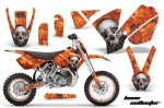 KTM SX65 SX Dirt Bike Motocross Graphic Kit - 2002-2008