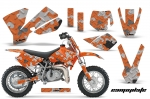KTM SX50 Adventurer,Jr,Sr Motocross Graphic Kit 2002-2008