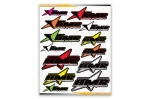 AMR Decal Sticker Sheet (11.5in x 14.5in)
