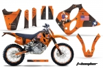 KTM C0 Graphic Kit 1993-1997 SX,XC LC4 Four Stroke