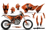 KTM C5 Graphic Kit SX/SX-F 125-525 07-10, XC 125-525 08-10, XCW 200-530 2011, XCFW 250 2011