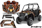 Polaris RZR 800 800s UTV Graphic Wrap Kit - 2011-2014