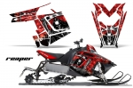Polaris PRO-R, RMK, Rush,Switchback,Assault Sled Snowmobile Graphics Decal Kit - 2011-2016