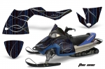 Polaris Fusion Sled Snowmobile Graphics Decal Kit 2005-2007