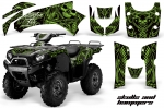 Kawasaki Brute Force 650i 4x4 Quad Graphic Kit 2004-2012