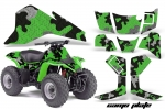 Kawasaki KFX 80 KFX80 ATV Quad Graphic Kit - 2003-2006