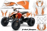 KTM 450/505/525 ATV Quad Graphic Kit - 2008-2010