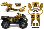 Can-Am Outlander MAX 500/650/800ATV Quad Graphic Kit 2006-2012