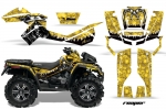 Can Am Outlander 500/650/800 XMR ATV Quad Graphic Kit 2006-2012