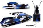 Yamaha Superjet Jet Ski Graphic Wrap Kit (Square Nose)