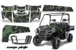 Polaris Ranger XP 500/700 4X4 EFI Graphic Kit 2009