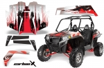 Polaris RZR 900 XP 900XP UTV Graphic Wrap Kit 2011-2014