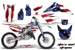 Honda CR125, CR250 Motocross Graphic Kit 1995-2012 (all designs available)