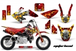 Honda CRF50 Motocross Graphic Kit 2004-2015