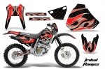 Honda XR400 Motocross Graphic Kit (all designs available)