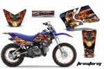 Yamaha TTR50 (2006-2009), TTR90 (2000-2007) Motocross Dirt Bike Graphic Kit