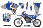 Yamaha WR250F WR450F 2003-2006 Dirt Bike Graphic Kit