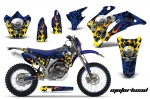 Yamaha WR250F 07-14 WR450F 07-11 Motocross Dirt Bike Graphic Kit