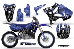 Yamaha YZ125 YZ250 2 Stroke Motocross Graphic Kit - 2002-2014