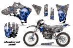 Yamaha YZ250F/450F 4 Stroke Motocross Graphic Kit - 2003-2005