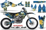 Yamaha YZ450F 4 Stroke Motocross Graphic Kit - 2010-2013