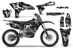 Yamaha YZ250F 4 Stroke Motocross Graphic Kit - 2010-2013