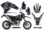 Yamaha WR250 R/X Motocross Dirt Bike Graphic Kit - 2007-2016