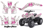 Kawasaki KFX 90 KFX90 ATV Quad Graphic Kit 2007-2012