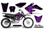 Honda CRF80 CRF100 Motocross Graphic Kit 2004-2010 (all designs available)