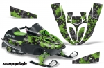 Arctic Cat 120 Sno Pro Sled Snowmobile Wrap Graphic Kit