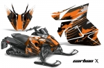 Arctic Cat ProCross SnoPro Sled Snowmobile Graphic Wrap Kit 2012-2016