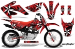 Honda CRF80 CRF100 Motocross Graphic Kit 2011-2016