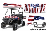Polaris Ranger XP 500/800/900D 4X4 EFI Graphic Kit 2010-2014