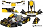 Tony Kart Venox - Kart Graphic Decal Kit (Through 2016)