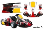Paul Tracy PTK Cadet JR Kid - Kart Graphic Decal Kit