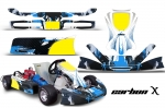 KG Cadet - Kart Graphic Decal Kit for Faring/Pods/Spoiler